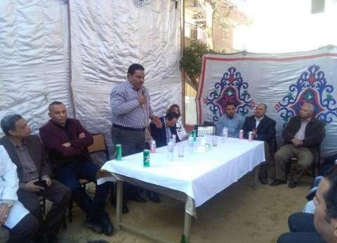 رئيس مدينة تلا بالمنوفية يفتتح مستشفى الكبد بقرية طبلوها