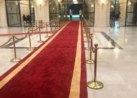 القصر الرئاسي بالسودان يستعد لاستقبال السيسي