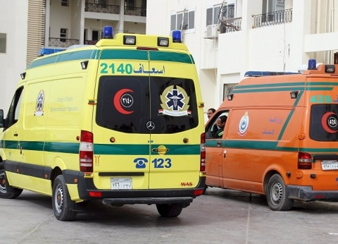 100 سيارة إسعاف تؤمن الاستفتاء على الدستور في كفر الشيخ