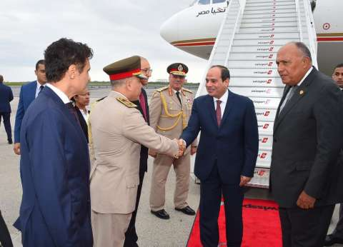 الرئاسة: السيسي يبحث مع رئيس المجلس الأوروبي مواجهة الهجرة غير الشرعية
