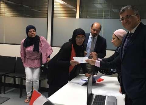 رئيس الجالية بفرنسا: استجابة كبيرة للمصريين على الاستفتاء