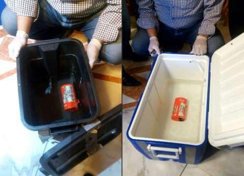 نقل أحد الصندوقين الأسودين للطائرة المصرية إلى القاهرة لبدء تفريغه