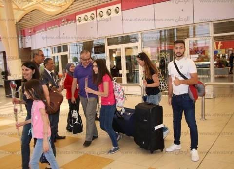 ارتفاع نسبة الإشغال السياحي بمدينة طابا 75% تزامنا مع أعياد شم النسيم
