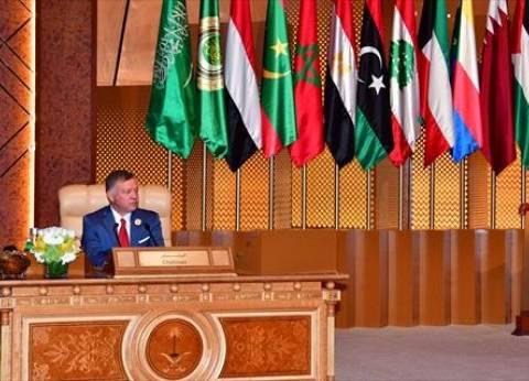 العاهل الأردني يهنئ السيسي بنجاح القمة العربية - الأوروبية