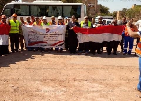 بالصور| إقبال كثيف على لجان الاستفتاء في جنوب سيناء