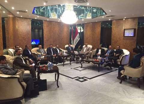 """وزير الخارجية العراقي يلتقي الوفد الممثل للحوثيين في """"مشاورات الكويت"""""""