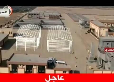 مميش: العمل في 178 مشروعا بمنطقة محور قناة السويس