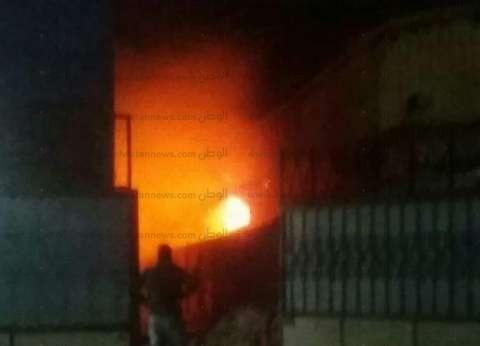 السيطرة على حريق شب بأحد الفنادق السياحية في أسوان
