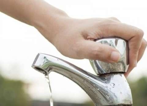 خفض ضخ المياه 7 ساعات لأعمال صيانة بحي ثان طنطا