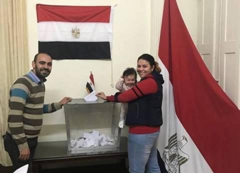 عاجل| انتهاء عملية تصويت المصريين بالكويت بعد 90 دقيقة إضافية