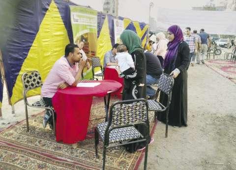 مندوبو المرشحين يفوقون عدد الناخبين بمدرسة هدى شعراوى في العمرانية
