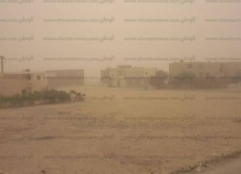 تعرض محافظة جنوب سيناء لرياح خفيفة محملة بالرمال