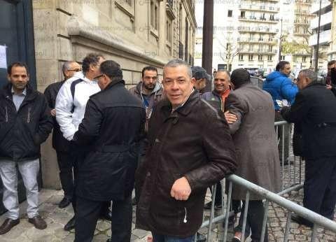 بالفيديو والصور| رغم حالة الطوارئ.. المصريون في باريس يتجهون للإدلاء بأصواتهم في الانتخابات