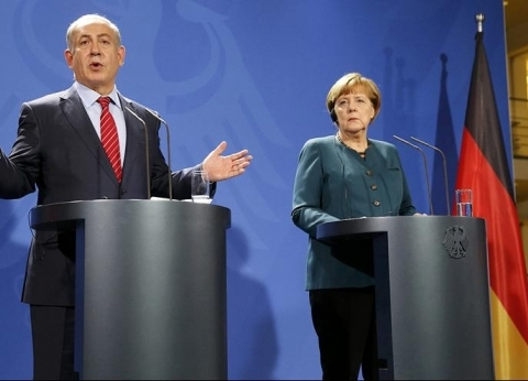 خلاف بين ميركل ونتنياهو حول كيفية التعاطي مع إيران
