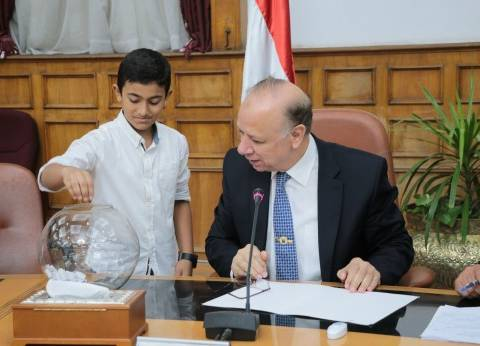 محافظ القاهرة يشهد حفل توزيع أجهزة كهربائية على 20 عروسا