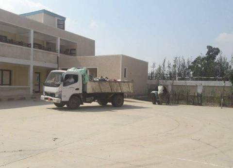 بالصور| الوحدة المحلية بالكاشف الجديد في دمياط تستعد للعام الدراسي