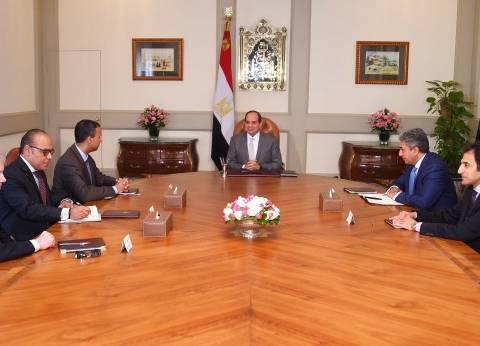 """السيسي: نتطلع للتعاون مع شركة """"بوينج"""" وزيادة نشاطها في مصر"""