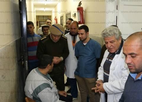 """""""الداخلية"""" تكلف فريق طبي للكشف على سجناء الاستئناف وصرف الأدوية اللازمة"""