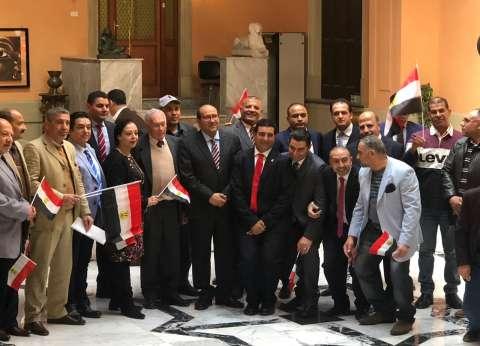 المصريون في إيطاليا يدلون بأصواتهم في التعديلات الدستورية