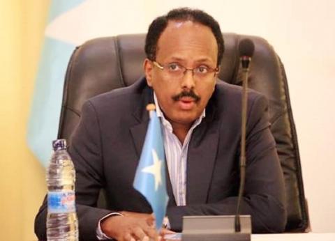 """رئيس الصومال يلتقي قادة 4 دول على هامش """"العربية-الأوروبية"""""""