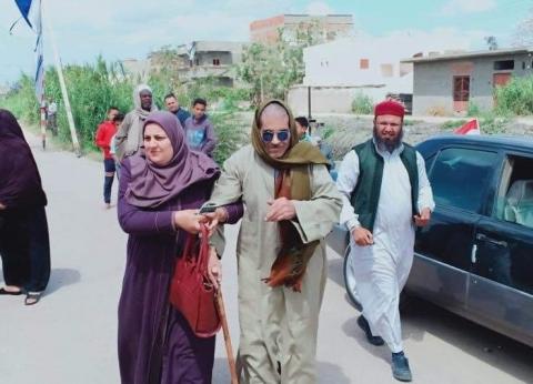 بعد استغاثته.. «الوزراء» يساعد كفيف مسن بالبحيرة على التصويت