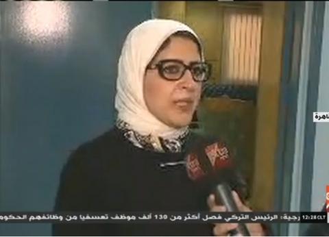 فيديو| وزير الصحة: ارتفاع عدد ضحايا حريق محطة مصر لـ22 حالة