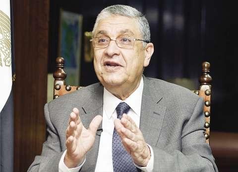 """شاكر: زيادة """"فواتير الكهرباء"""" يوليو المقبل وفق خطة إلغاء الدعم"""