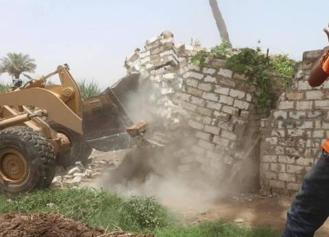 """""""الري"""": نشارك في حملة إزالة التعديات على أراضي الدولة"""