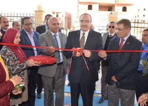 بالصور| محافظ بني سويف يفتتح المقر الجديد لبنك الدم الإقليمي