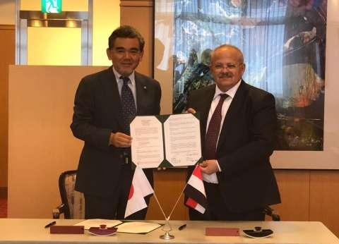 """رئيس جامعة القاهرة يشارك في تخليد اليابان لذكرى """"قنبلة هيروشيما"""""""