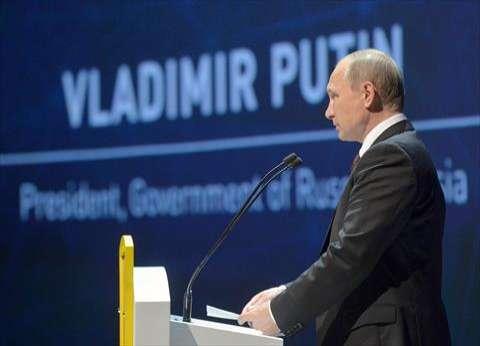 بوتين يعزي السيسي في ضحايا حادث المنيا الإرهابي