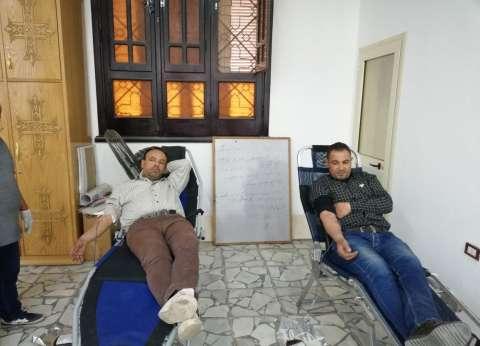 كنائس السويس تتسابق للتبرع بالدماء لدعم الجيش والشرطة في سيناء