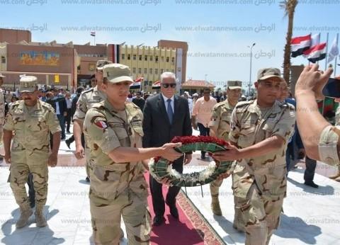فوده في احتفال عيد تحرير سيناء: نقهر الإرهاب بالتنمية الشاملة