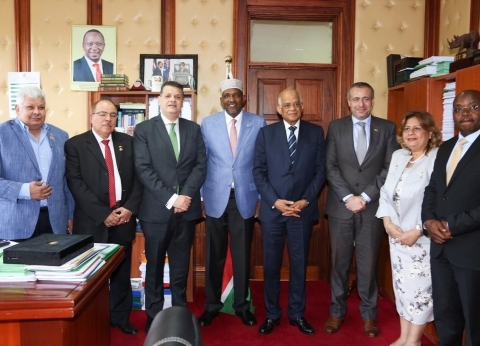 البرلمان الكيني: نقدر جهود الرئيس السيسي لخدمة الشعوب الأفريقية