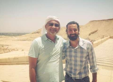 """أحمد حاتم ينتهي من تصوير الجزء الثاني من """"الكنز"""""""