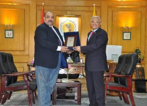 """""""المنيا"""" تقترح على المجلس الأعلى للجامعات تنظيم أسبوعا لمتحدي الإعاقة"""