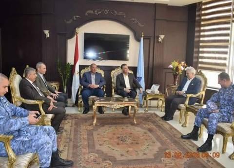 محافظ البحر الأحمر يستقبل وزير النقل لبحث المشروعات الجاري تنفيذها