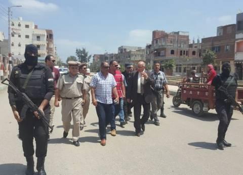 """مدير أمن دمياط يقود حملة لضبط تجار المخدرات بـ""""ميت أبوغالب"""""""