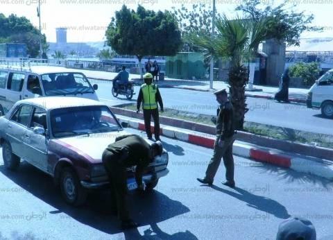تكثيف الحملات المرورية بجنوب سيناء تزامنا مع أعياد الربيع