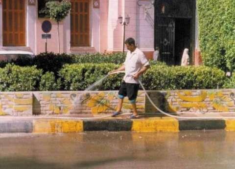 الدولة تخسر 1.5 مليون لتر مياه بسبب غسل السيارات ورشّ الشوارع