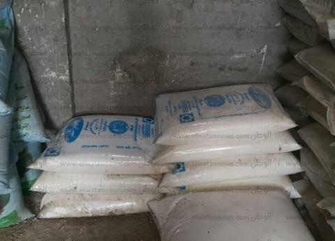 ضبط 4 طن أسمدة زراعية ومغذيات سائلة حيوية غير مسجلة بوزارة الزراعة