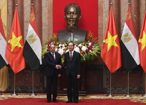 رئيس فيتنام: زيارتي إلى مصر بمناسبة الذكرى الـ55 للعلاقات بين البلدين