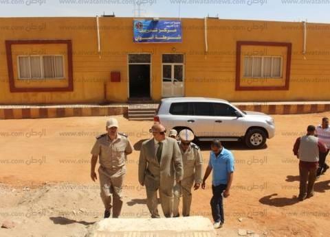 مدير أمن أسوان يتفقد المواقع الشرطية في أسوان