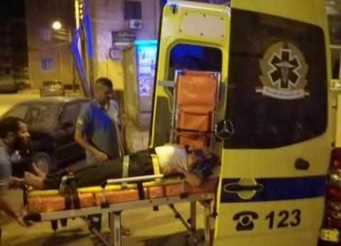 """""""الحماية المدنية"""" بسوهاج تنقذ طبيبا أصيب بغيبوبة سكر داخل منزله"""