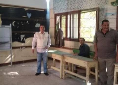 وصول البعثة الدولية المحلية لمراقبة الانتخابات مدرسة صفية زغلول ببولاق