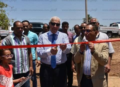 افتتاح محطتين لرفع وتنقية مياه الشرب في أسوان
