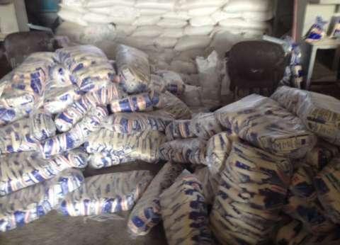 ضبط صاحب مصنع بالفيوم لحيازته 3 أطنان أرز دون ترخيص