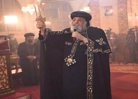 البابا تواضروس يهنئ رئيس الوزراء بمناسبة عيد الأضحى المبارك