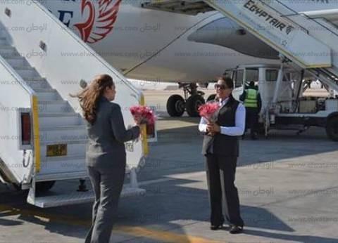 وصول أولى الرحلات الروسية إلى مطار الغردقة اليوم عبر الخطوط التركية