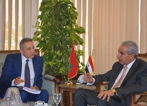 قابيل: خطة لزيادة البعثات التجارية بين مصر والمغرب الفترة المقبلة